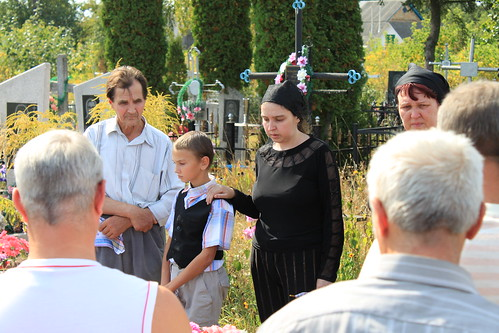 Funeral of Maxime's Father