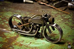 1941 Flathead Indian Bobber shot by Izthistaken