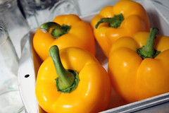 Thumbnail image for Yellow Squash and Bell Pepper Torte