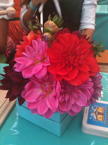 Blumen bei Tiffany