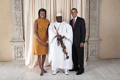 U.S. President Barack Obama and First Lady Michelle Obama With World Leaders at the Metropolitan Museum in New York (http://www.state.gov) Tags: usa ny newyork president whitehouse michelle unitednations gambia obama firstlady generalassembly barackobama unga jammeh michelleobama