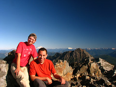 Yana and I at the Summit of Three Fingers