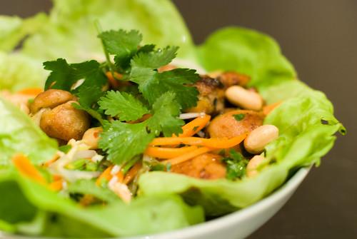 Asian Inspired Chicken Salad