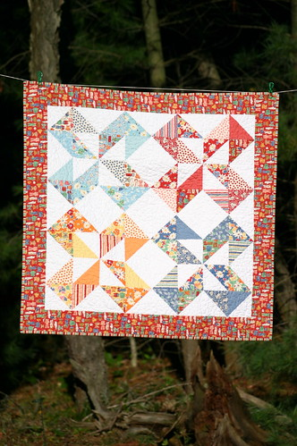 Dutch Pinwheel Quilt