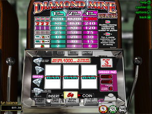 Diamond Mine Deluxe slot game online review
