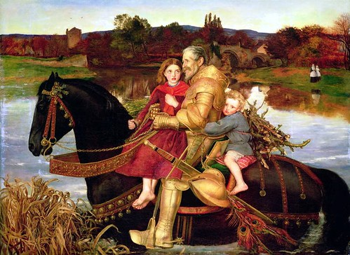 Millais, Sir ISUMBRAS at the Ford