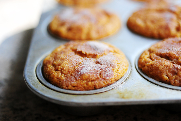 Moist Pumpkin Spice Muffins (With Cream Cheese Frosting) | The Pioneer ...