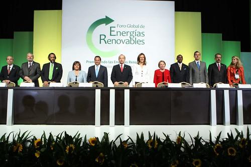 Inauguración del Foro Global de Energía Renovable by Gobierno Federal