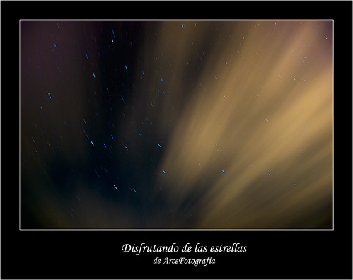 Disfrutando de las estrellas