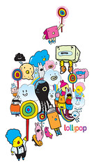 We Are Lollipop (Chairman Ting) Tags: illustration cutecharacters interactiveagency carsonting chairmanting chairmantingindustries wearelollipop michahelgramlow amandaloughran denisekiwah funcutecharacters
