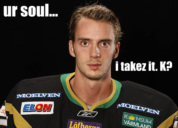 Jonas Gustavsson wants your soul