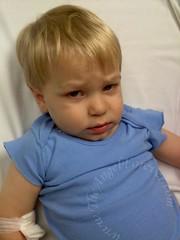 103.3 fever just at ER
