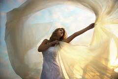 Wishful Thinking (Leah Johnston) Tags: wedding light sunset portrait woman selfportrait girl female self bride veil leah curtain surreal fabric johnston sheer whitedress selfportraitartist leahjohnson leahjohnston leahjohnstonphotography leahjohnstonphotos