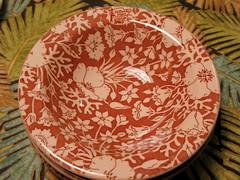 Festival Pattern El Rancho Vegas (prima seadiva) Tags: brown vintage tan dishes restaurantware tanbody restaurantchina