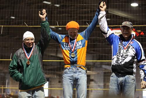 Ron Strasser, 60+ champ