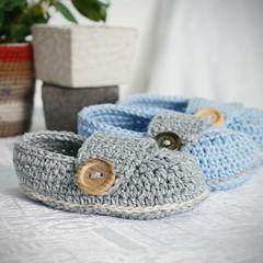 baby booties - marcus (saplanet originals) Tags: handmade crochet booties babybooties babyproducts