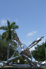 Trova - The Falling Man (failing_angel) Tags: sculpture art florida naples trova naplesmuseumofart thefallingman ernesttrova 290411