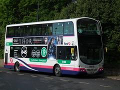 First West  Yorkshire, Volvo B7TL, 37058 YJ06 XMK (Danny's Bus Photos) Tags: west volvo yorkshire first b7tl 37058 yj06 xmk yj06xmk
