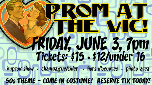 Prom at the VIC! 2011