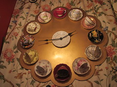 Time for TEA ! (AGA~mum) Tags: clock teacups afternoonteathequeenmarytearoom
