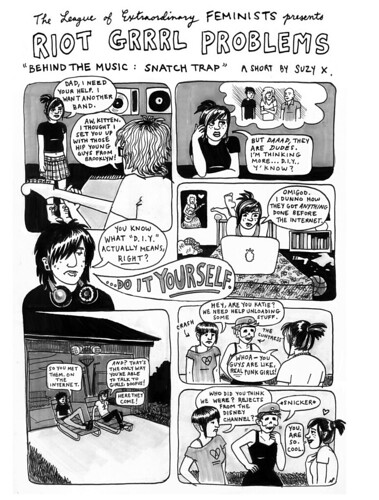 RIOT GRRRL PROBLEMS #3 by suzy_ex