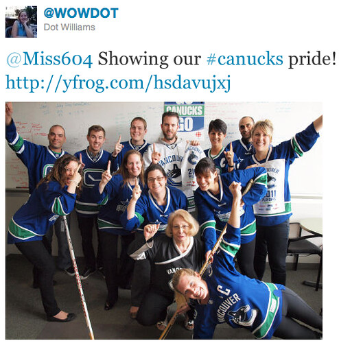 Canucks Twitter