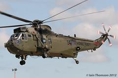 ZD626/S - Westland Sea King HC.4 (iainthomson84) Tags: aircraft air royal airshow international arrivals 2012 fairford airtattoo