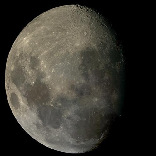 Moon on 1/7/09