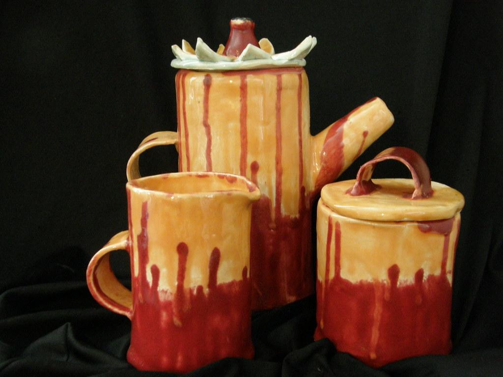 Five Piece Coffee Set