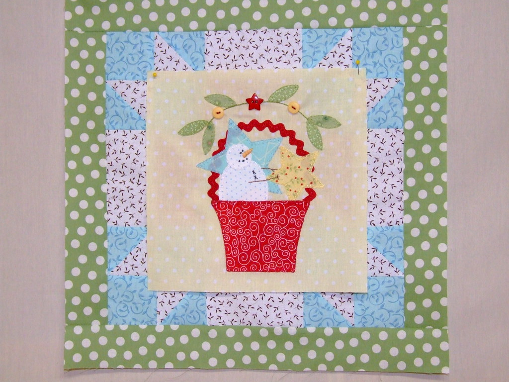 Bunny Hill Block of the month- One