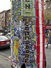 """Light Pole Detail, St. Mark's and 2nd Ave. (johnwilliamsphd) Tags: nyc newyorkcity copyright eastvillage newyork john williams c """" williams"""" """"john johncwilliams johnwilliamsphd phd"""""""