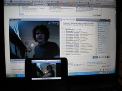 Geoff Smith on Ustream (foto door: PiAir (Old Skool))