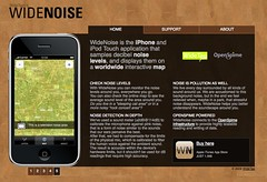 WideNoise Website