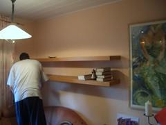 Wohnzimmerwand_gestrichen 001 (Lady in Black) Tags: wand farbe wohnzimmer streichen weis renovieren wohnzimmerwandgestrichen