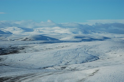 Cairngorms from Carn Ealasaid