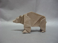 Bear (Slave of Sleep) Tags: bear origami paperfolding