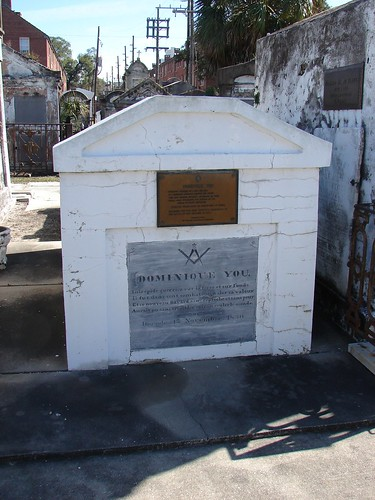 Dominique You's Grave
