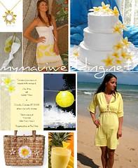 3239654853 dfc3a0034d m Baú de ideias: Decoração de casamento amarelo