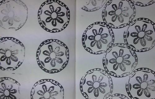 Stamp 2 variations 1