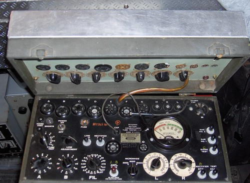 Hickok Tube Tester. Modified Hickok I-177 Tube