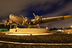 B-17 (Rodrigo Bertoli) Tags: nightshot b17 recife boeing bomber flyingfortress airbase rec ef1740mmf4lusm gateguardian