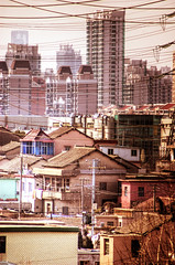 Wired Shanghai. (@yakobusan Jakob Montrasio ) Tags: china road photoshop nikon day view shanghai floor shanghaiist 5th hdr hdri xiangyang luwan