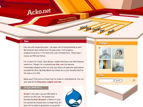 Dev   Steven Wittens - Acko.net by you.