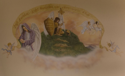 Fairview Adult Foster Care, Grand Ledge, MI: Mural by artist David Bogle