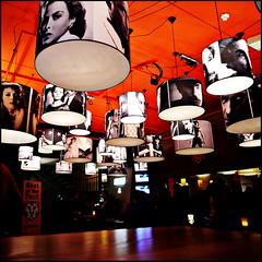 To the movies (Maerten Prins) Tags: orange cinema nijmegen actors ceiling movies lamps lux arthouse