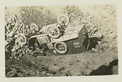 Night driving results in an overturned ambulance (Reeve 031646), National Museum of Health and Medicine