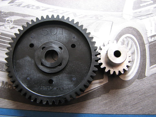 TGX Spur Gear with Frog Pinion