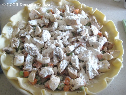 Turkey Pie: Flour, Sea Salt and Pepper