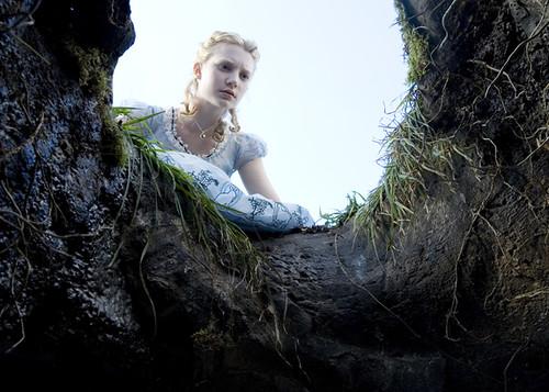 Primera foto de Alicia en el país de las maravillas