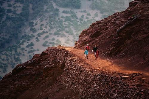 Berber Boys - High Atlas, Morocco